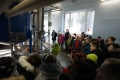 Bērni iepazīstas ar Dzintaru ūdens sagatavošanas ietaisēm